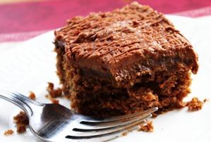 چسبنده بودن کیک